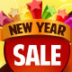 New Year Sale Banner Set 2 - 12 Sizes - GraphicRiver Item for Sale