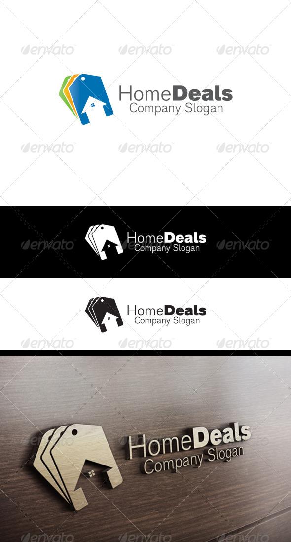 Home Deals Logo - Buildings Logo Templates