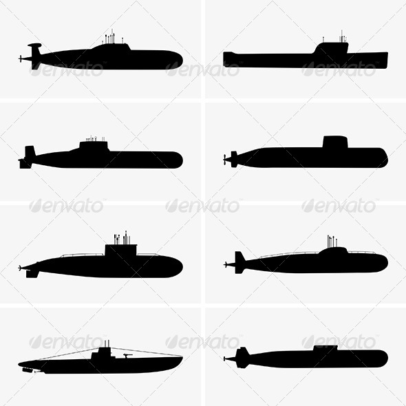 Submarines - Man-made Objects Objects