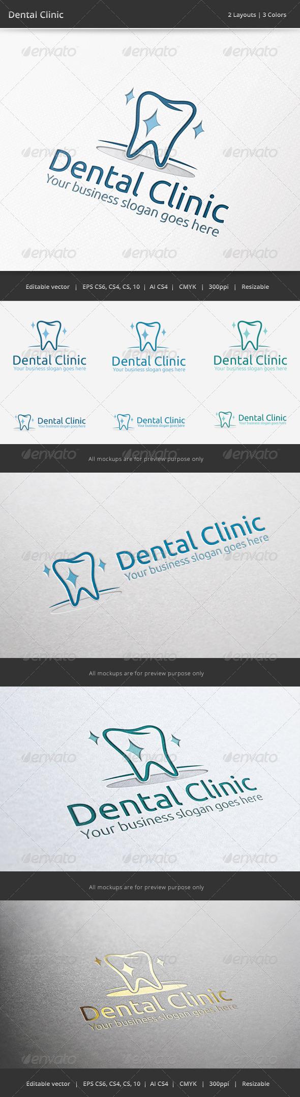 Dental Clinic Logo - Objects Logo Templates