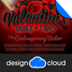 Valentine Dinner, Party and Event Flyer