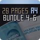 Brochure Bundle 20 Pages Series 4-6 - GraphicRiver Item for Sale