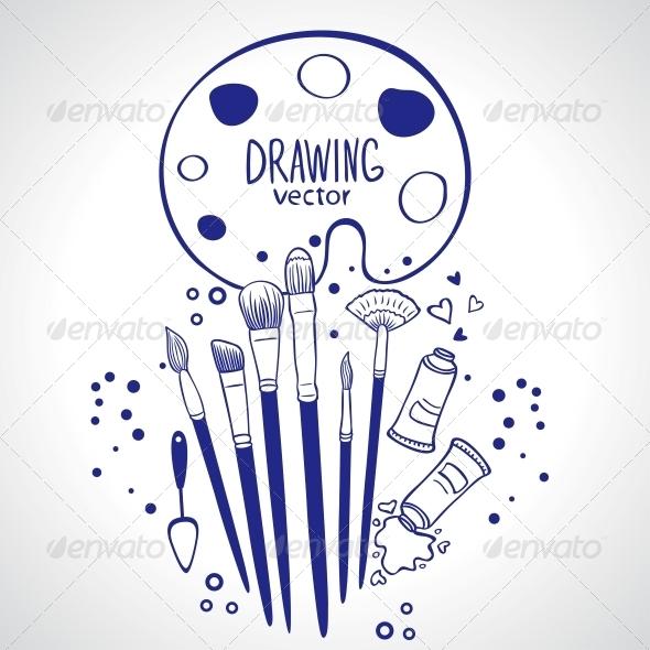 Brushes - Miscellaneous Vectors