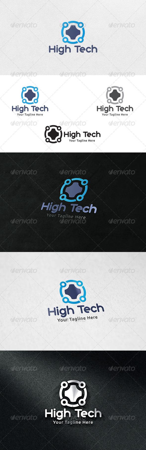 High Tech - Logo Template - Symbols Logo Templates