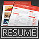 Resume, Cover Letter, Portfolio, Business Card - GraphicRiver Item for Sale