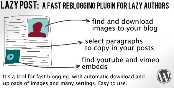 Lazy Post Plugin - CodeCanyon Item for Sale