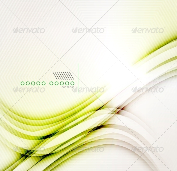 Yellow Abstract Shadow Wave Background - Web Technology