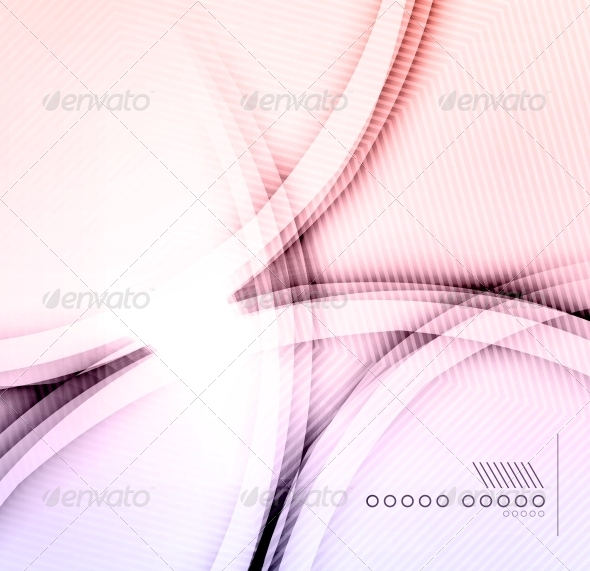 Purple Shadow Wave Abstraction - Web Technology