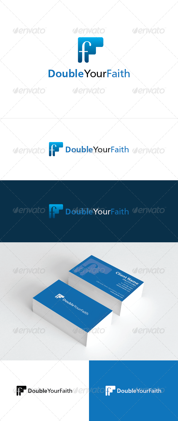 Double Your Faith Logo - Letters Logo Templates