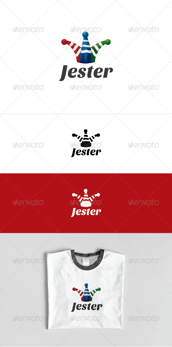 Jester Logo Template - Objects Logo Templates