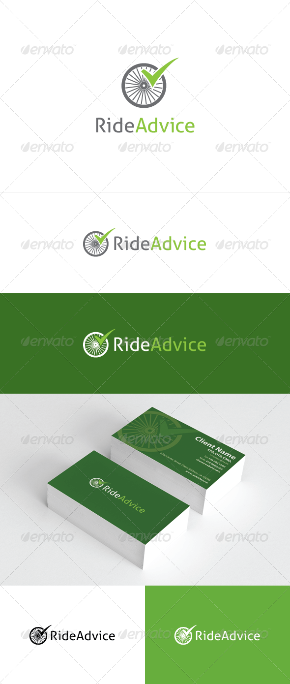 Ride Advice Logo Template - Objects Logo Templates