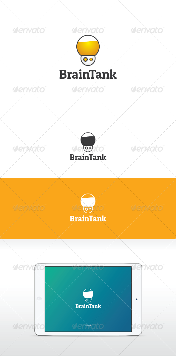Brain Tank Logo - Humans Logo Templates