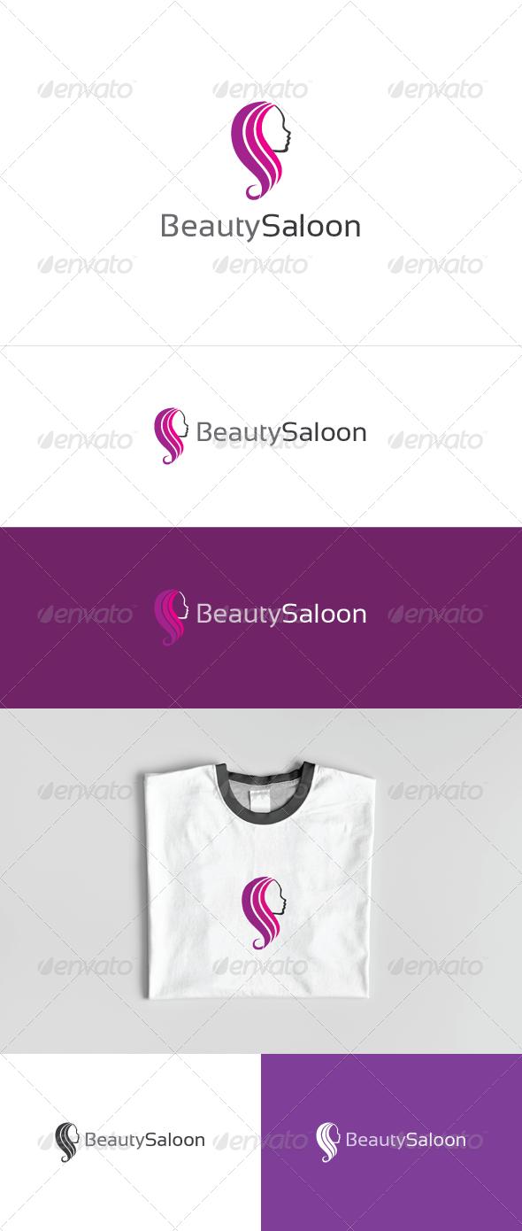 Beauty Saloon Logo Template - Humans Logo Templates