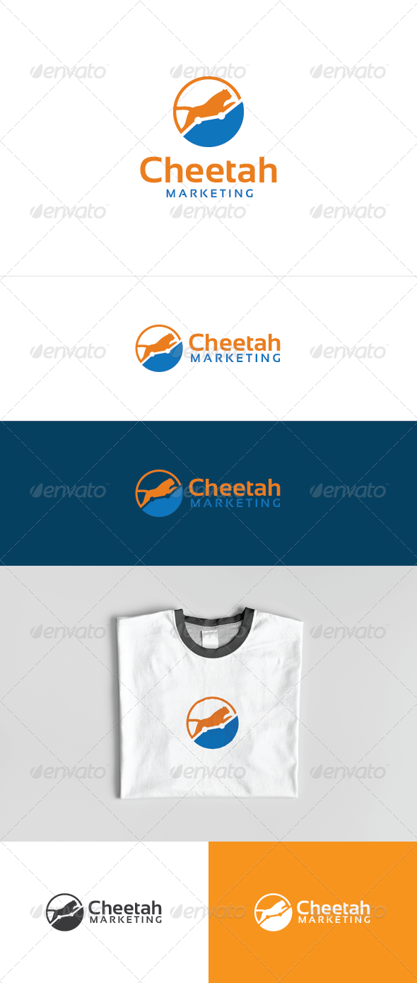 Cheetah Marketing Logo Template - Symbols Logo Templates