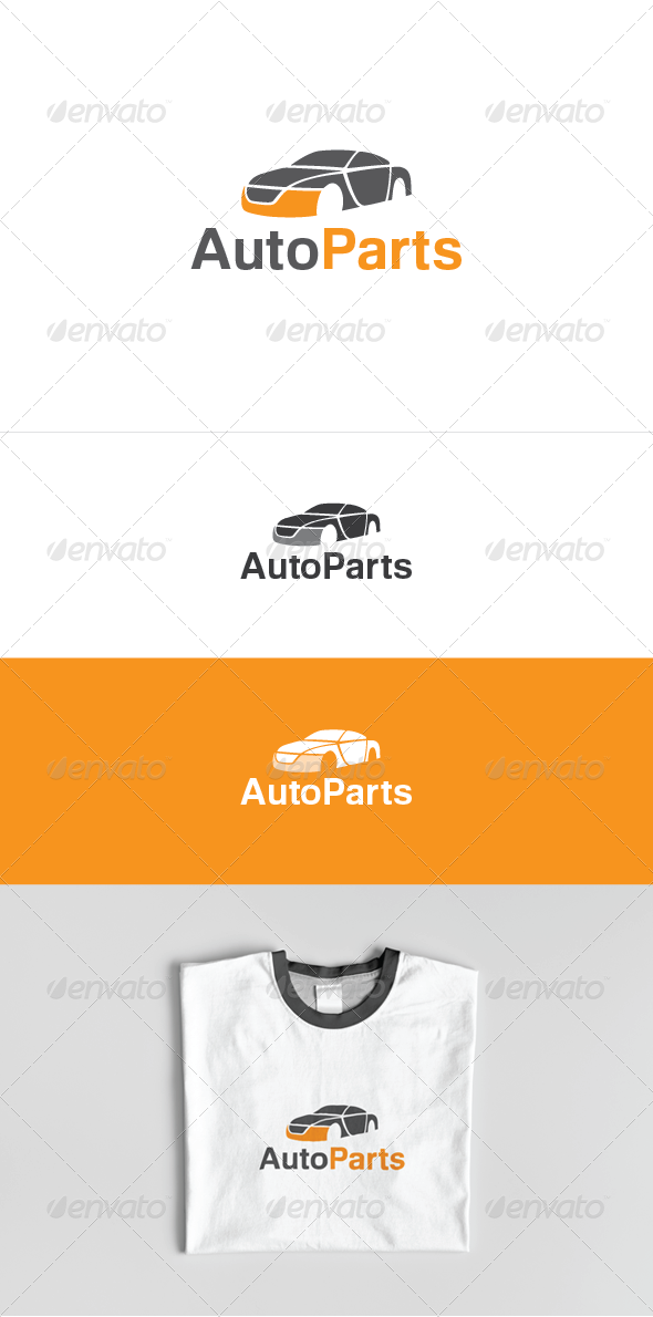Auto Parts logo template - Objects Logo Templates