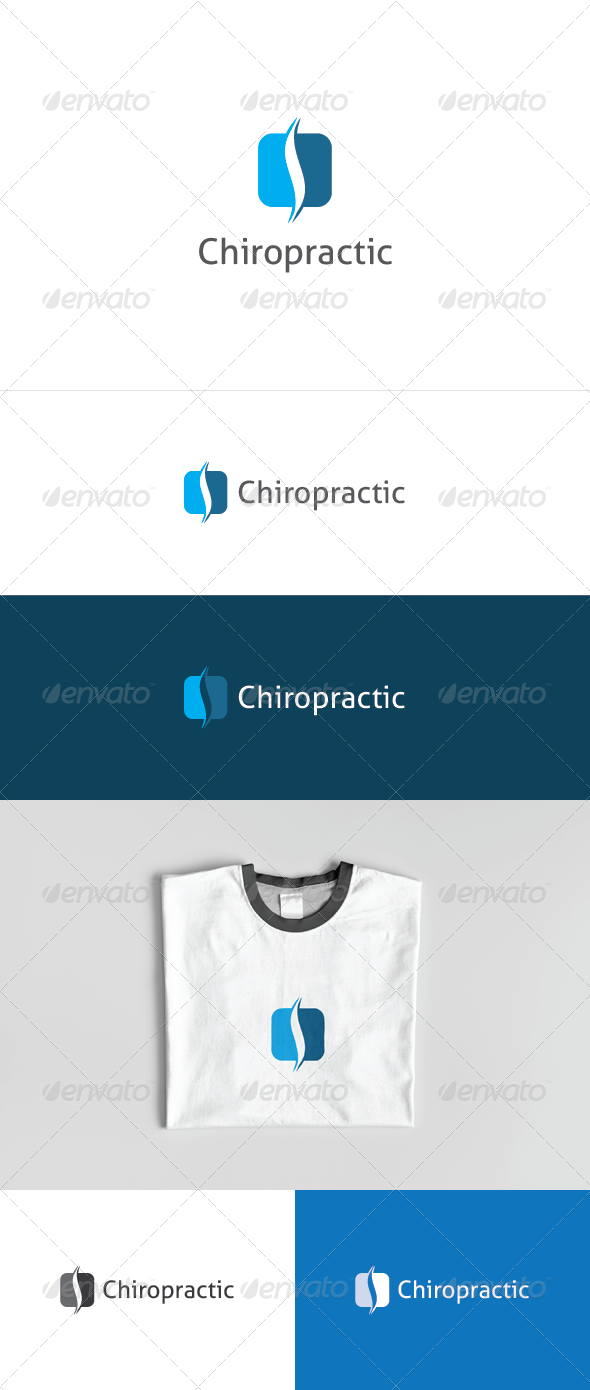 Chiropractic Logo - Vector Abstract