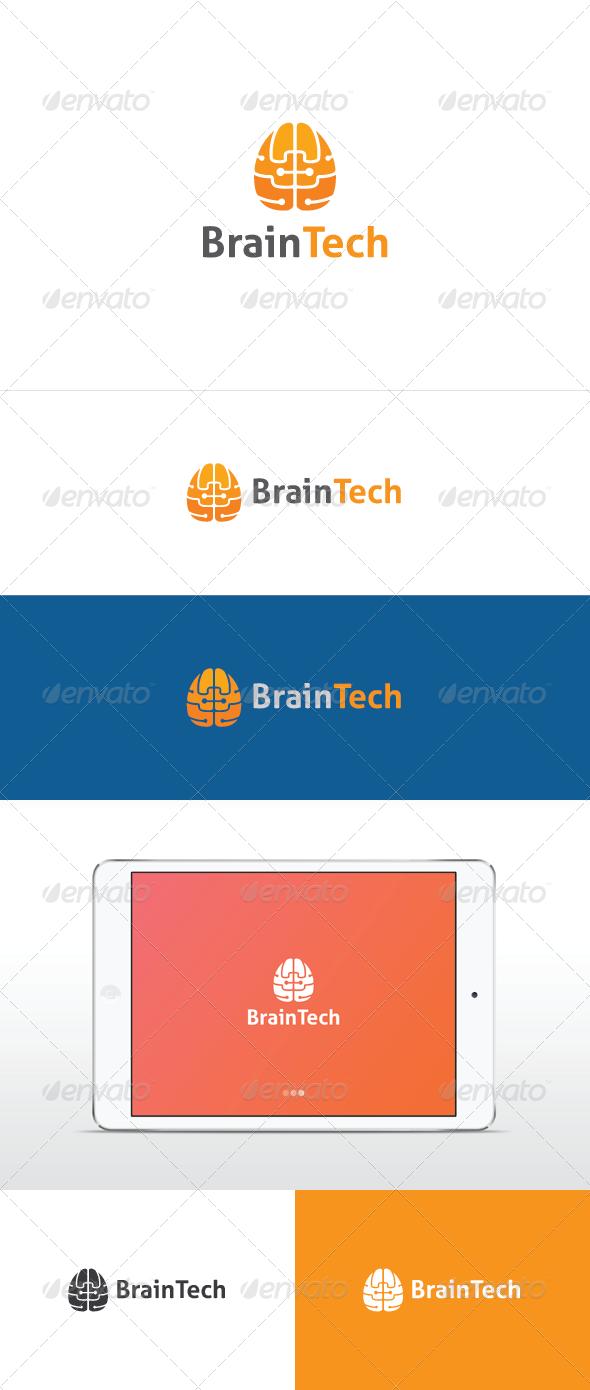 Brain Tech - Humans Logo Templates