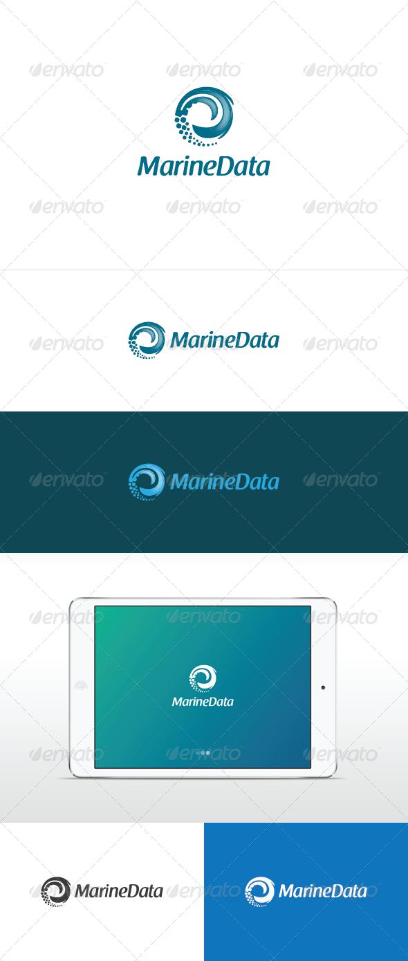Marine Data - Nature Logo Templates