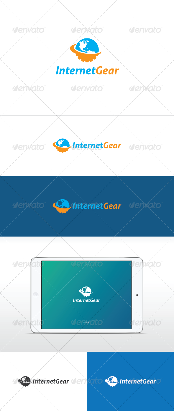 Internet Gear - Symbols Logo Templates
