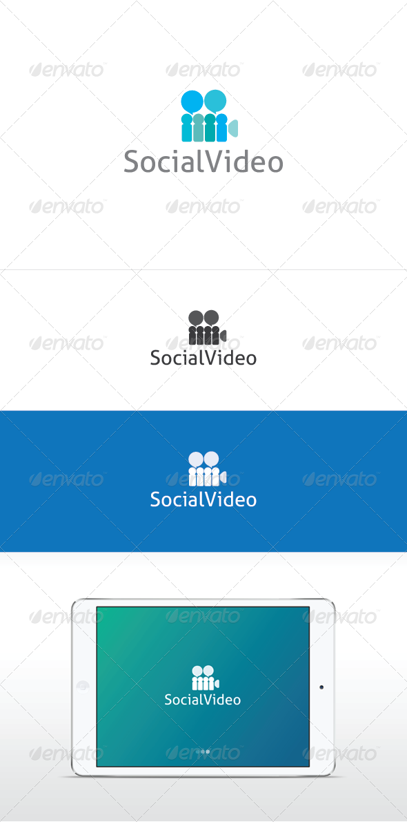 Social Video - Symbols Logo Templates
