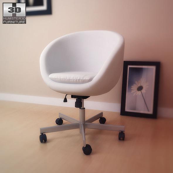 Ikea Skruvsta Swivel Chair 3d Model By Humster3d 3docean