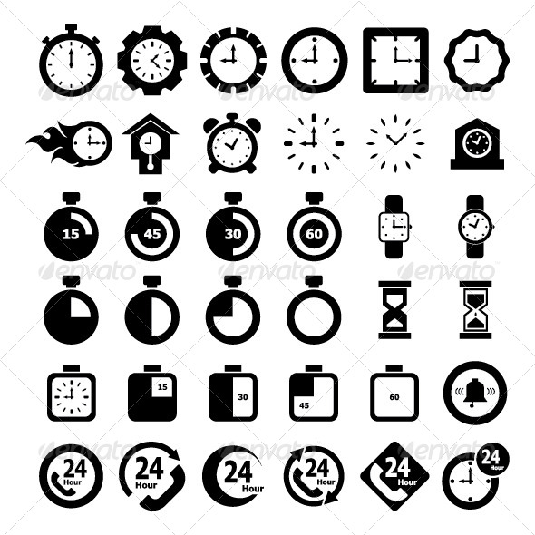 Time Icon - Objects Icons