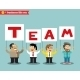 Office Personnel Holding Team Sign - GraphicRiver Item for Sale