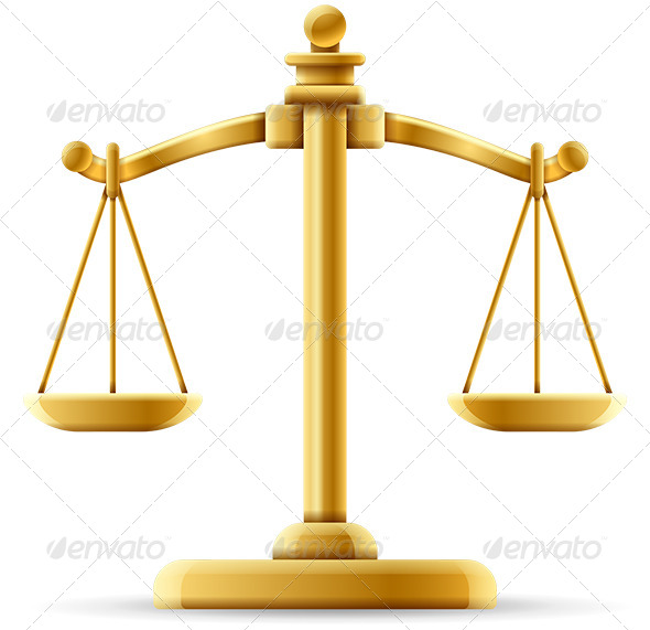 Balanced Justice Scale - Concepts Business