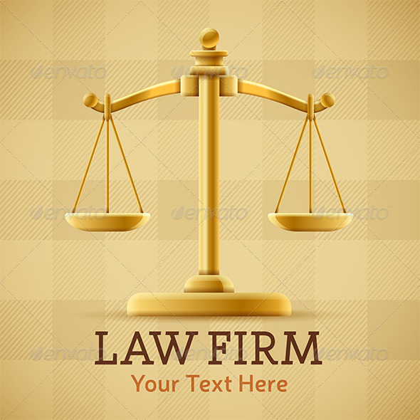Law Firm Justice Scale - Man-made Objects Objects