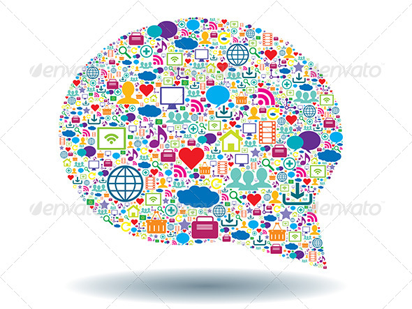 Thought Bubble and Social Media - Communications Technology