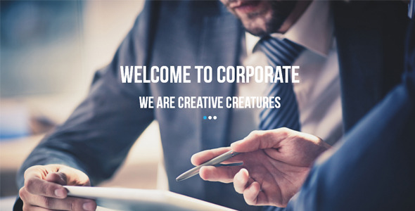 Corporate Multipurpose Muse Template - Corporate Muse Templates