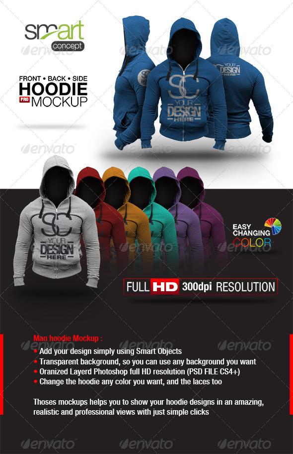 Hoodie Mock up - Product Mock-Ups Graphics