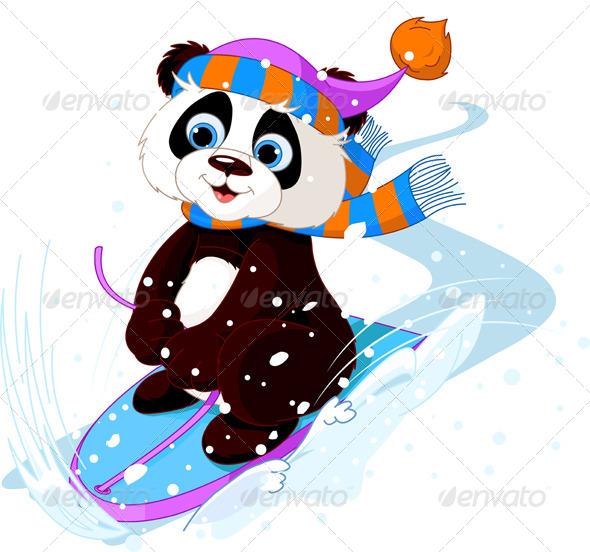 Fast Panda - Animals Characters