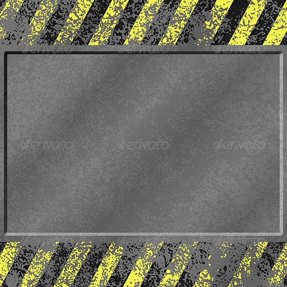 Grunge Metal Background - Backgrounds Decorative