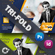 Corporate Tri-Fold Template - GraphicRiver Item for Sale