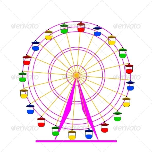 Ferris Wheel - Halloween Seasons/Holidays