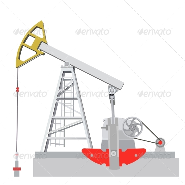 Oil Pump Jack - Industries Business