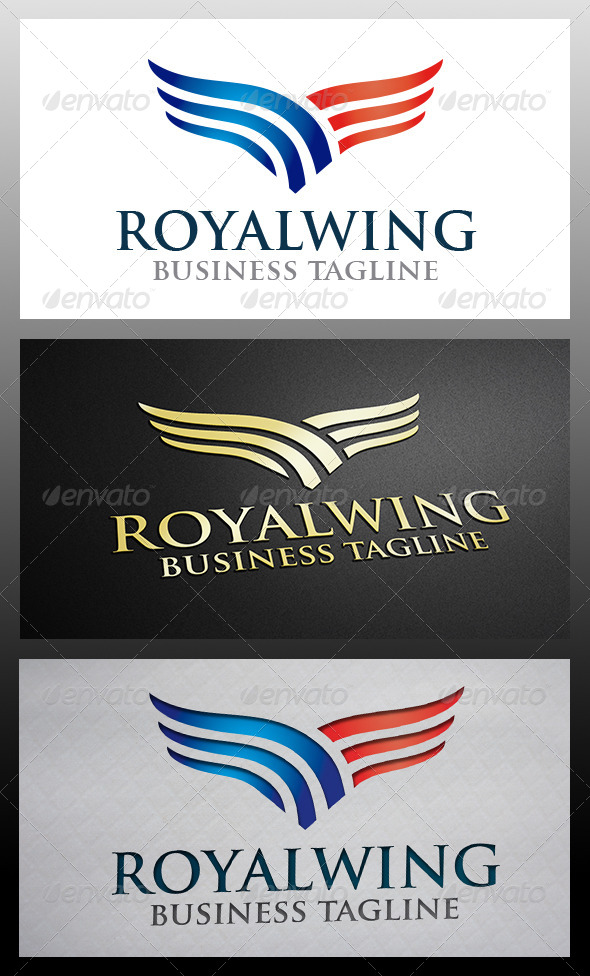 Wings Logo - Symbols Logo Templates