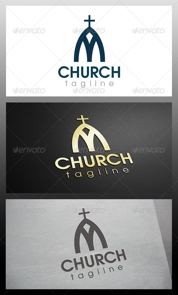 Church Logo - Buildings Logo Templates