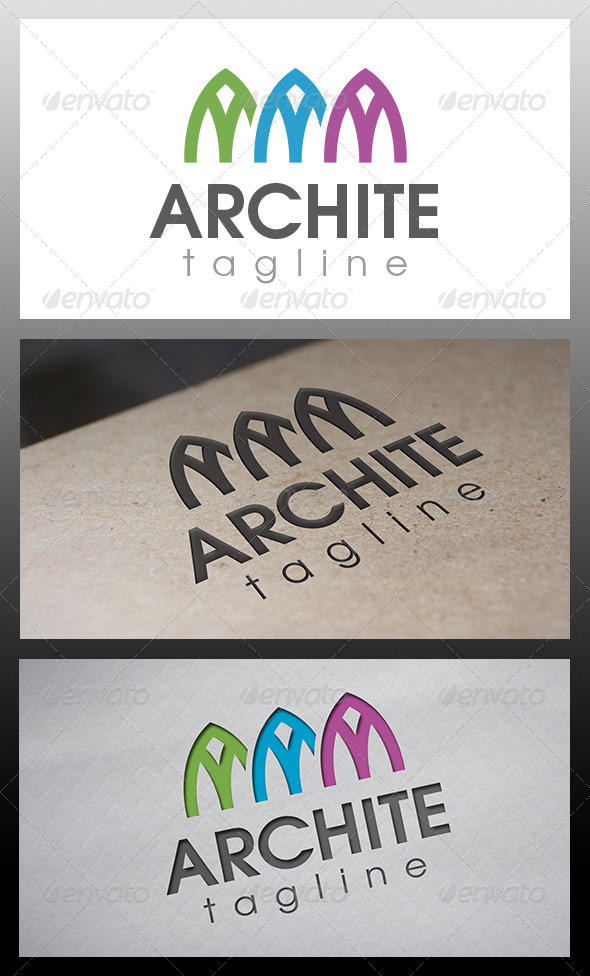 Architects Studio Logo - Buildings Logo Templates