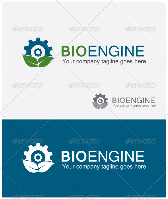 Bio Engine Logo - Nature Logo Templates
