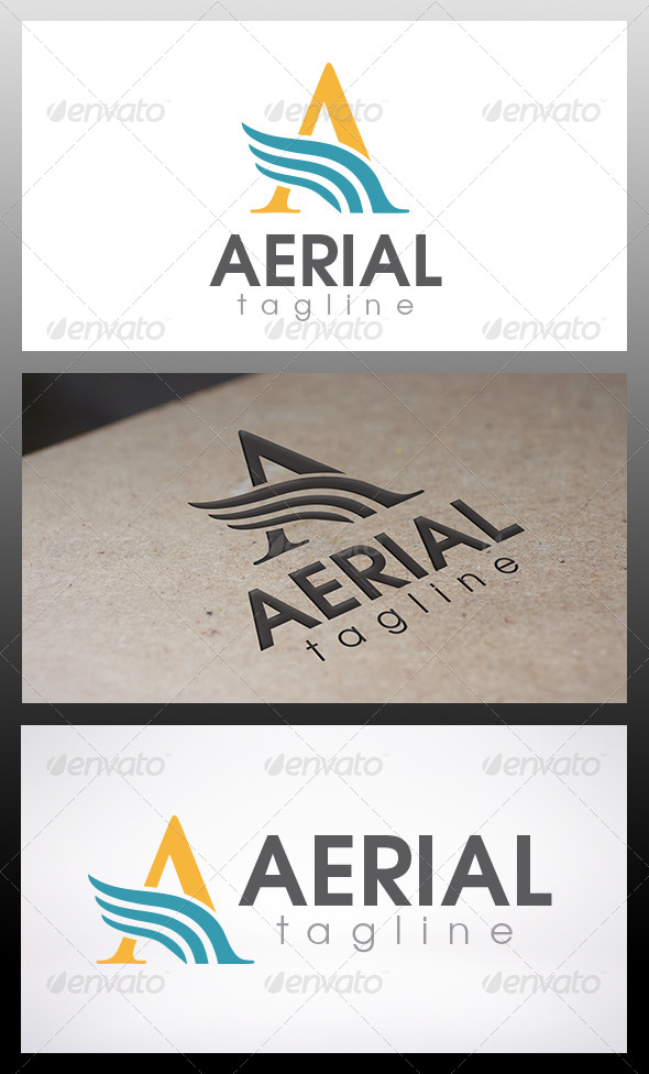 Air Logo - Letters Logo Templates