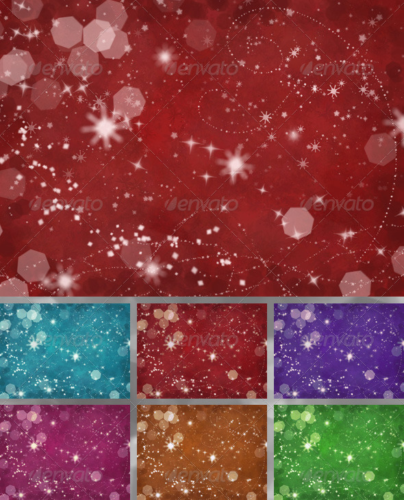Christmas Snowflakes Background  - Abstract Backgrounds