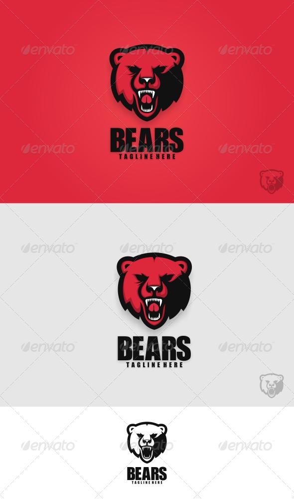 Bears Logo Termplate - Animals Logo Templates