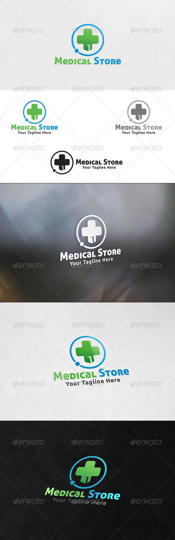 Medical Store - Logo Template - Buildings Logo Templates