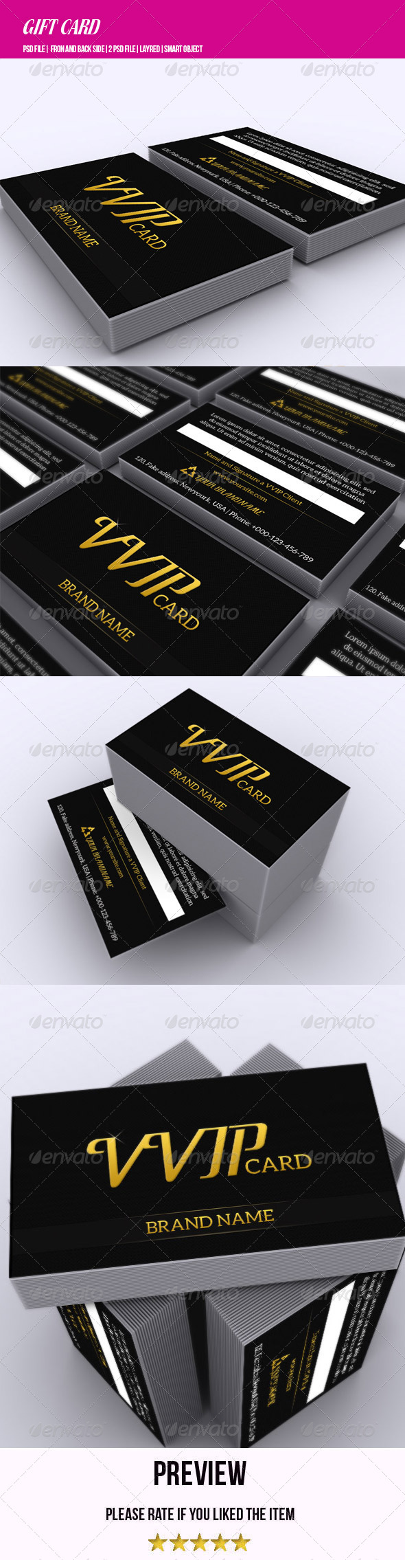 VVIP Card - Loyalty Cards Cards & Invites