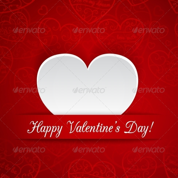 Greeting Card for Valentine's Day - Valentines Seasons/Holidays