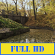 Autumn Stone Bridge in the Old Park - VideoHive Item for Sale