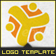Youth Community - Young Group - Logo Template - GraphicRiver Item for Sale