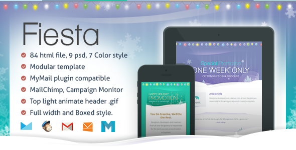 Fiesta – Responsive Email Template